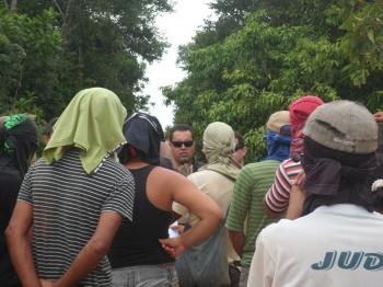 Em 11 de janeiro ocupantes receberam liminar de despejo da PF. Foto jornalrondovale Cristiano Will Lira