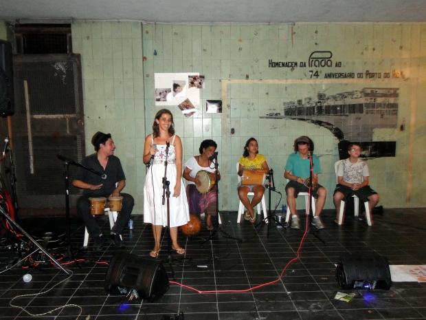Banda Corisco também marcou sua presença na festa.