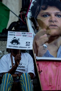 Ato pela Reforma Urbana! Foto de Carolina Calcavecchia.